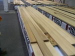 Kiln dried clear window trim 8-20'